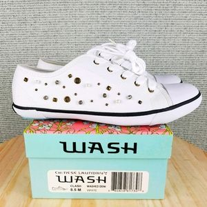 NEW CL Embellished Canvas Fashion Sneaker Shoes